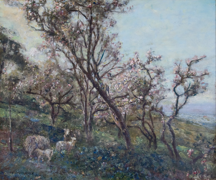 Sheep_in_an_Orchard